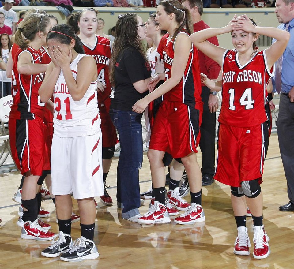 Photo -  during the championship game of the 4A girls state championship tournament at the Big House in the State Fair Park on Saturday, March 12, 2011, in Oklahoma City, Okla.   Photo by Chris Landsberger, The Oklahoman