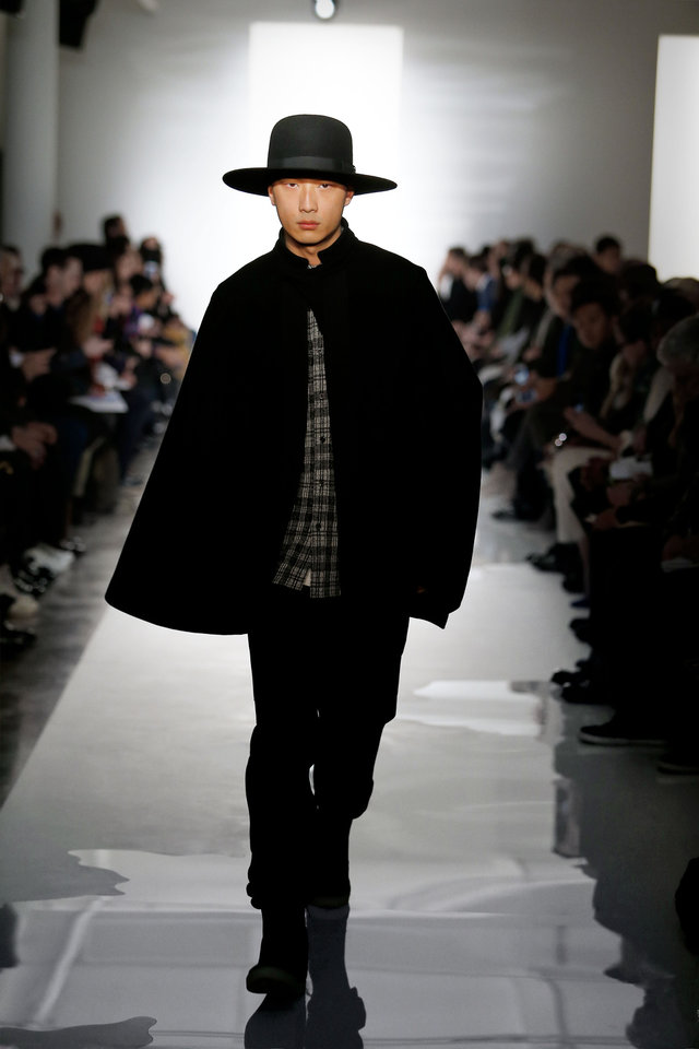 Photo - This Feb. 2014 photo released by Public School shows fashion from the Public School Fall 2014 collection during Fashion Week in New York. Public School is a label by designers Dao-Yi Chow and Maxwell Osborne. (AP Photo/Public School)