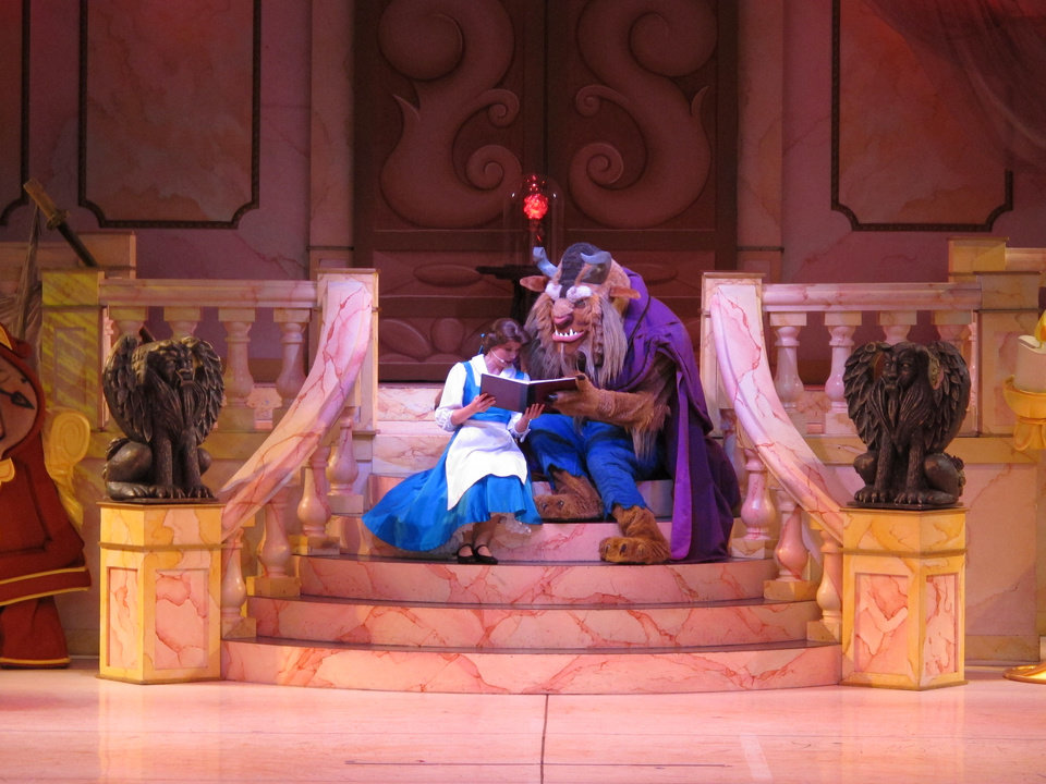 "Photo - Disney's Hollywood Studios theme park has a host of shows, including a live production of ""Beauty and the Beast."" PHOTO BY Richard Hall, THE OKLAHOMAN"