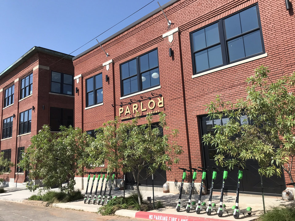 Photo - Downtown Oklahoma City's Parlor is a food hall just west of the railroad tracks. [Dave Cathey/The Oklahoman]