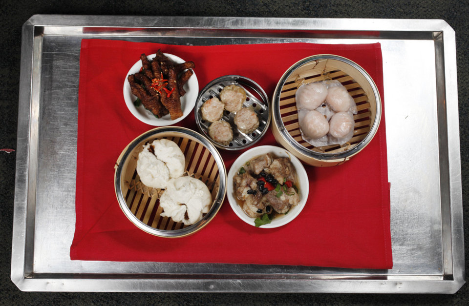 Photo - Dim Sum will be served at Grand House China Bistro on Christmas. Oklahoman Archive photo  Jaconna Aguirre - The Oklahoman
