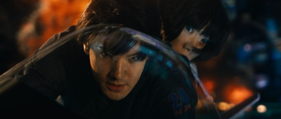 Jim Sturgess and Doona Bae appear in a scene from