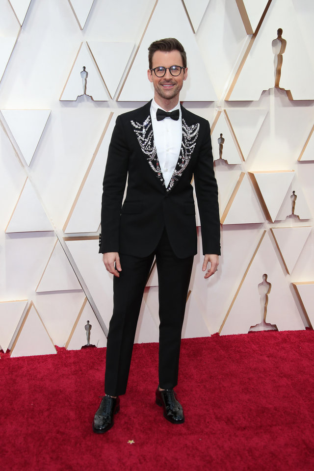 Photo - Feb 9, 2020; Los Angeles, CA, USA;  Brad Goreski arrives at the 92nd Academy Awards at Dolby Theatre. Mandatory Credit: Dan MacMedan-USA TODAY