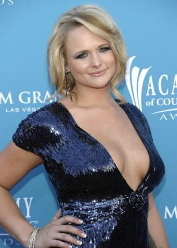 Miranda  Lambert arrives at the 45th Annual Academy of Country Music Awards in Las Vegas on Sunday, April 18, 2010. AP Photo