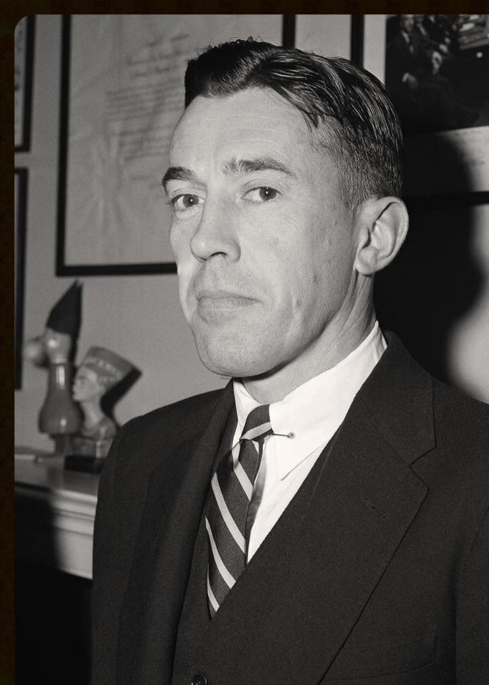 Photo -  Lawrence E. Walsh is shown in a photo from 1954, the year President Dwight D. Eisenhower appointed him as a federal district judge in New York. PROVIDED