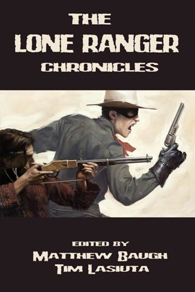 "Moore author Mel Odom wrote ""The Great Dinosaur Rush"" for the prose anthology ""The Lone Ranger Chronicles.""  Moonstone. <strong></strong>"