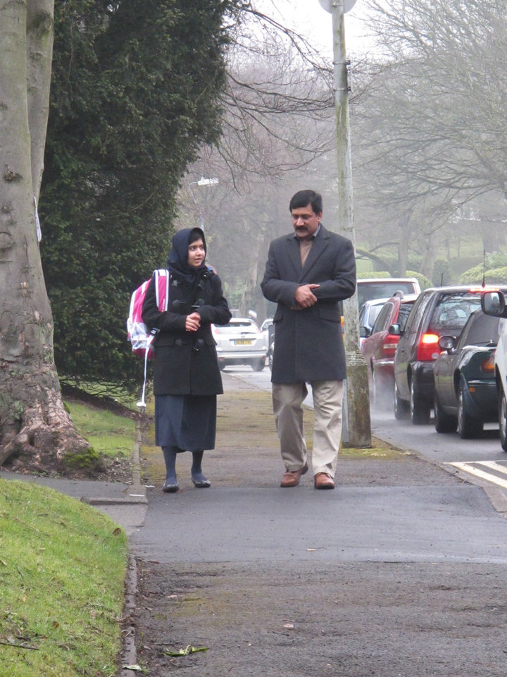 Malala and Ziauddin Yousafzai.  Photo provided. <strong></strong>