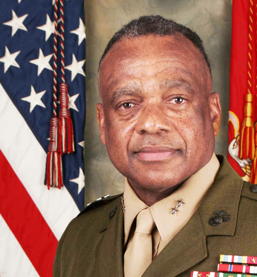 Photo - Retired Marine Maj. Gen. Anthony Jackson