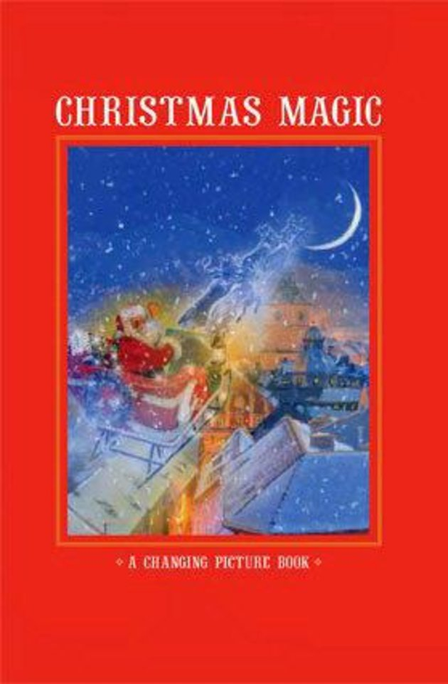 """Christmas Magic,"" written by Kirsten Hall, illustrated by Simon Mendez. Bookcover art provided. <strong></strong>"