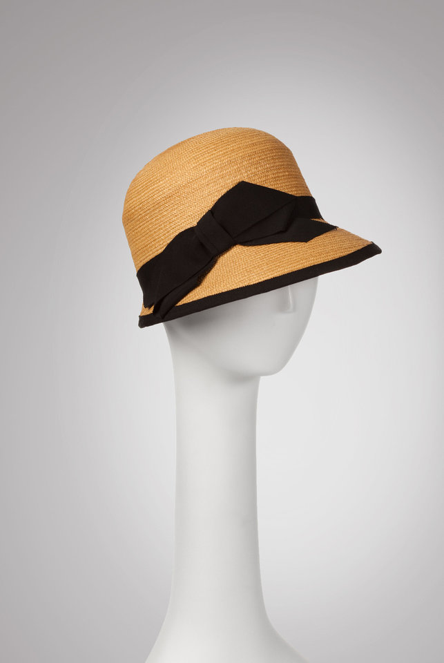 Photo - This hat is an example of the millinery fashions of Marla Cook. She and Lydia Sullivan-Benham will present a hat trimming workshop from 1 to 4 p.m.  Feb. 23 at JRB Art at the Elms, 2810 N Walker. Photo provided.