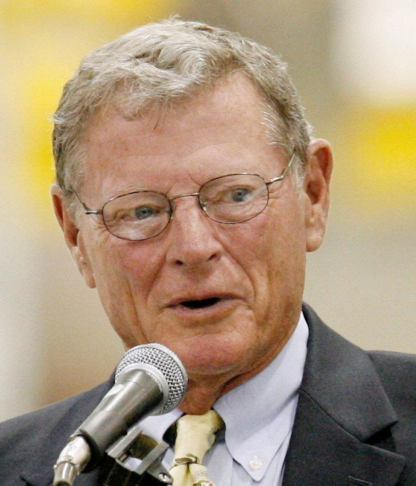 U.S. Sen. Jim Inhofe <strong> - Oklahoman File Photo</strong>