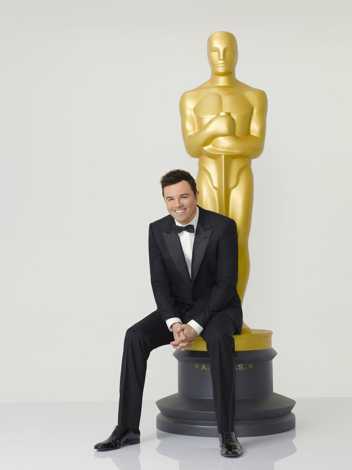 Seth MacFarlane will host �The 85th Annual Academy Awards� at 7:30 p.m. Sunday on ABC. ABC photo