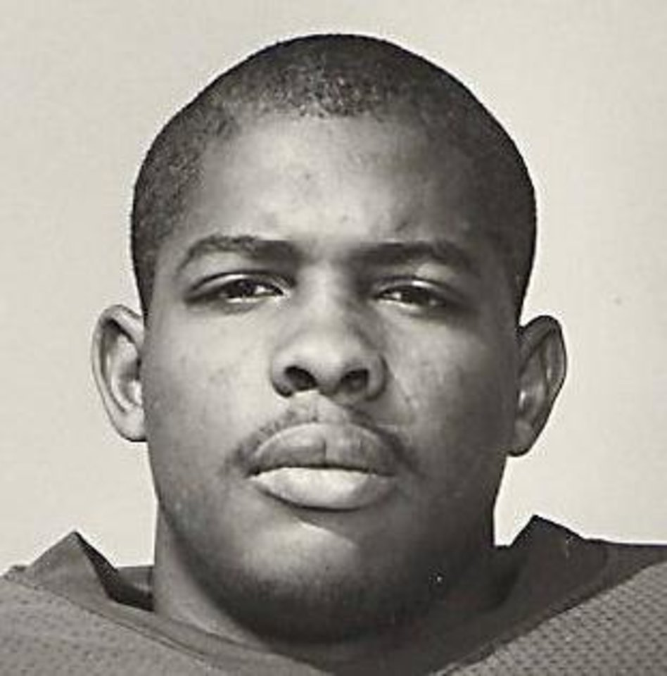 Former OU football player Tyrone Rodgers. Photo by The Oklahoman Archive <strong></strong>