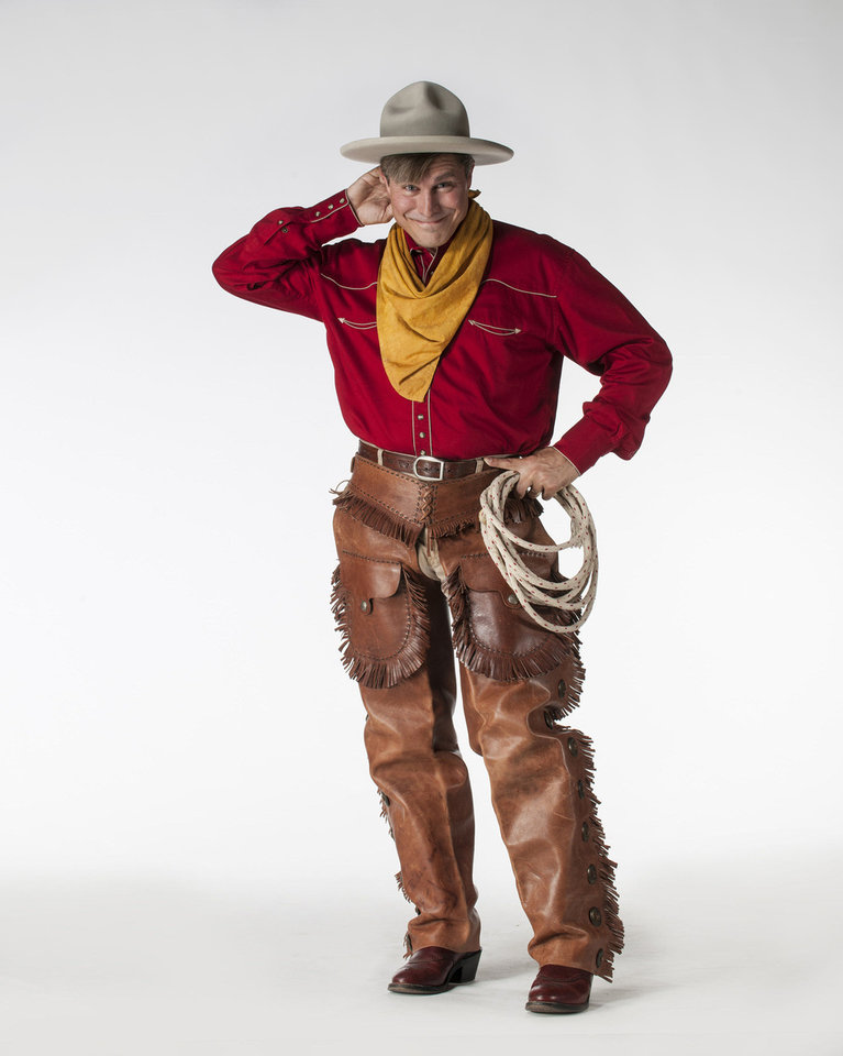Photo - Tom Huston Orr as Will Rogers   Photo by Keith Rinearson