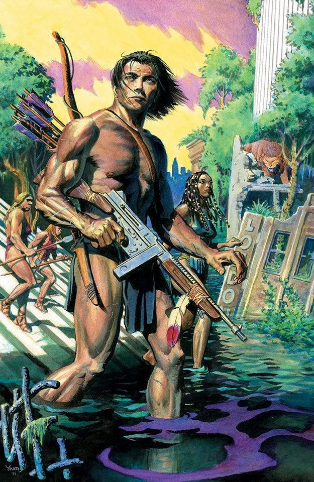 """The Once and Future Tarzan"" one-shot.  Dark Horse Comics"