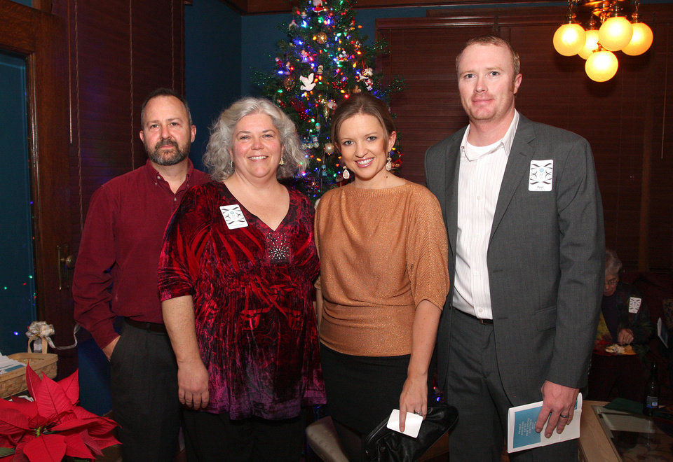 Chris and Trina Morrison, Shaundra and Paul Blundell. Photo by David Faytinger for the Oklahoman