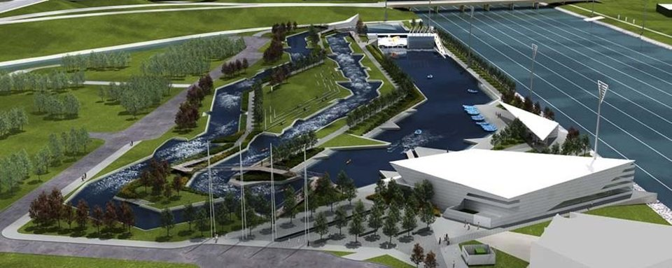 Photo -  RIVERSPORT Rapids, OKC's $45 million whitewater rafting and kayaking facility, is set to open to the public May 7. RIVERSPORT Rapids was built in the Boathouse District as a part of MAPS 3.