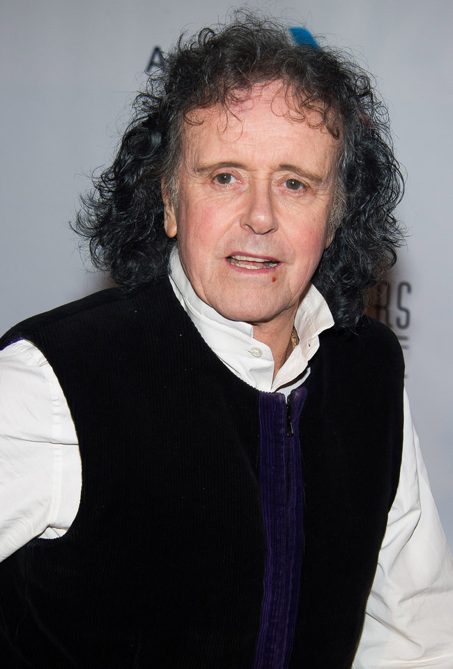 Photo - Donovan attends the Songwriters Hall of Fame Awards on Thursday, June 12, 2014, in New York. (Photo by Charles Sykes/Invision/AP)