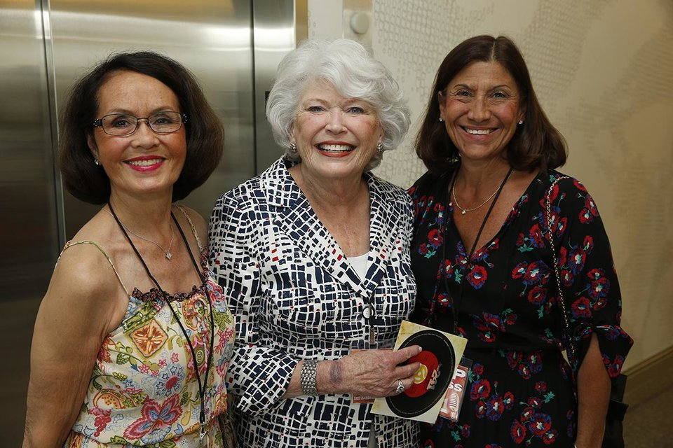 Photo -  Terri Cooper, Phyllis Stough, Barbara Young.    STEVE SISNEY -  Oklahoma Medical Research Foundation