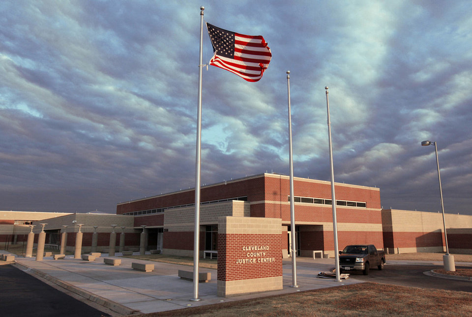 Photo - The Cleveland County Justice Center at Franklin and Flood is shown. The Cleveland County Justice Authority is being audited by the IRS as it continues to pay off a $52 million bond it issued to build the new jail in north Norman.  Photo by Nate Billings, The Oklahoman Archives