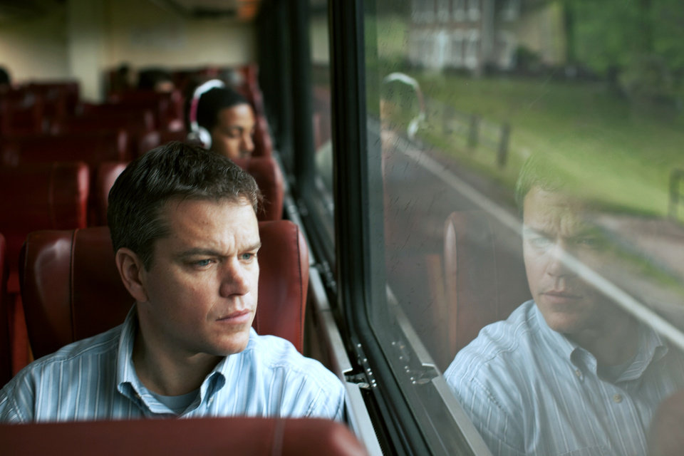 "Matt Damon in a scene from ""Promised Land,"" a drama about a small town divided over the environmental issue of ""fracking.""  FOCUS FEATURES PHOTO <strong></strong>"
