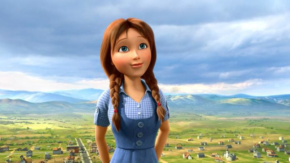 Photo -       Dorothy (voice of Lea Michele) in Legends of Oz: Dorothy's Return.