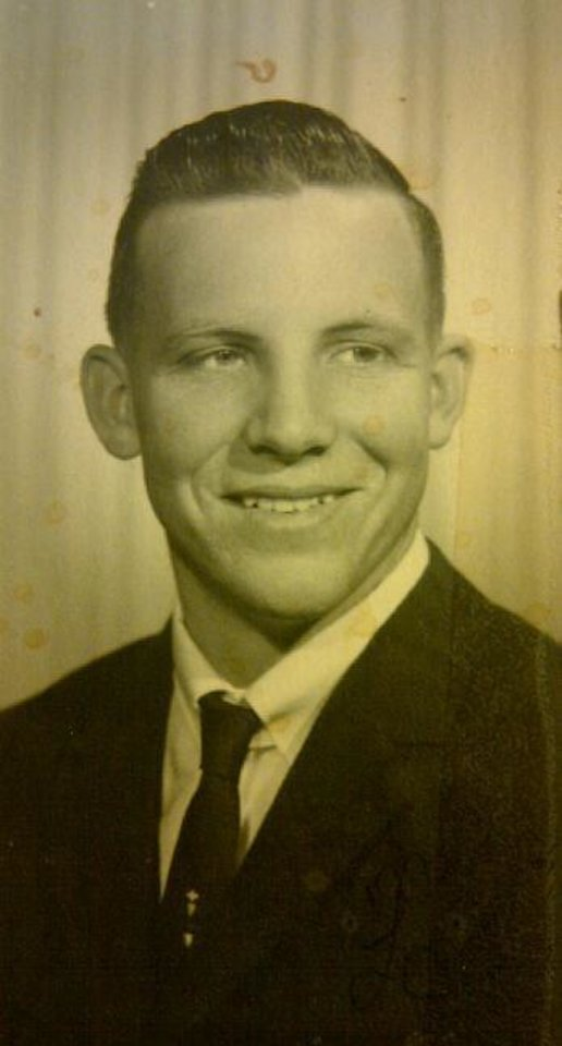 Photo - Roger Whitney, Brent's father. Roger developed early-onset Alzheimer's near age 48 and died at 55.