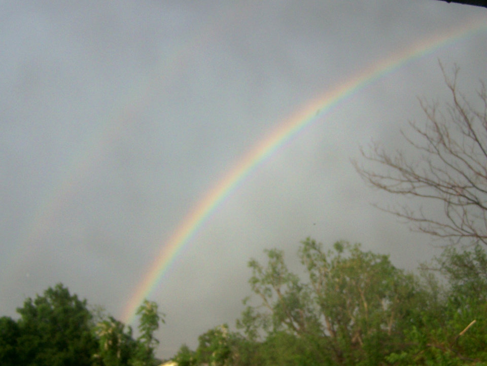 somewhere over the rainbow.....<br/><b>Community Photo By:</b> Michele King<br/><b>Submitted By:</b> Michele, Midwest City