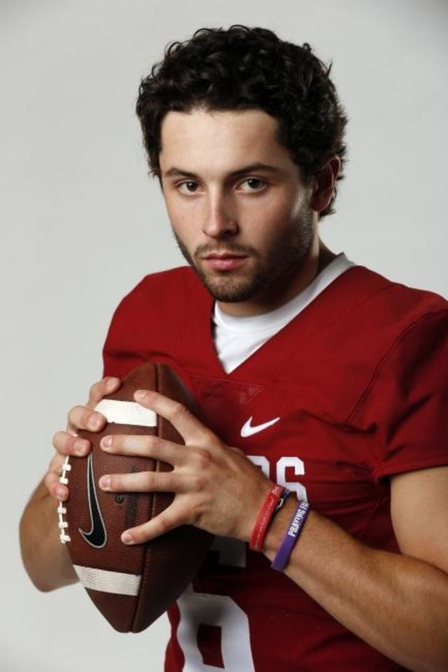 Photo -  Baker Mayfield left Oklahoma with scores of big wins and big statistics after three seasons as starting quarterback. [Steve Sisney/The Oklahoman]