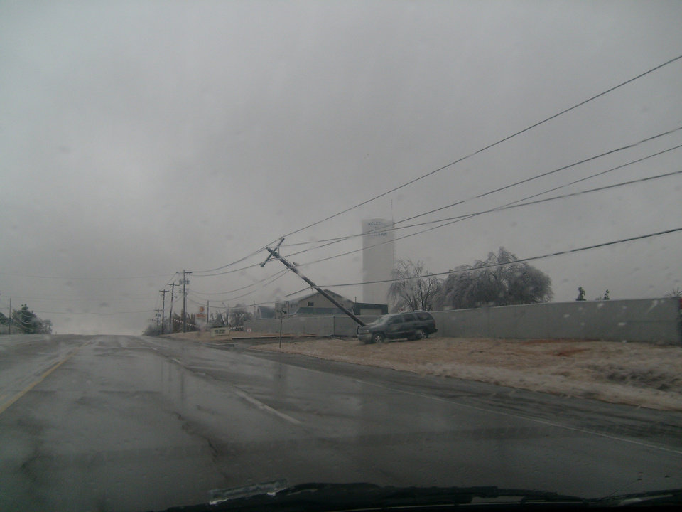power outages<br/><b>Community Photo By:</b> Stacie Porter<br/><b>Submitted By:</b> stacie, harrah