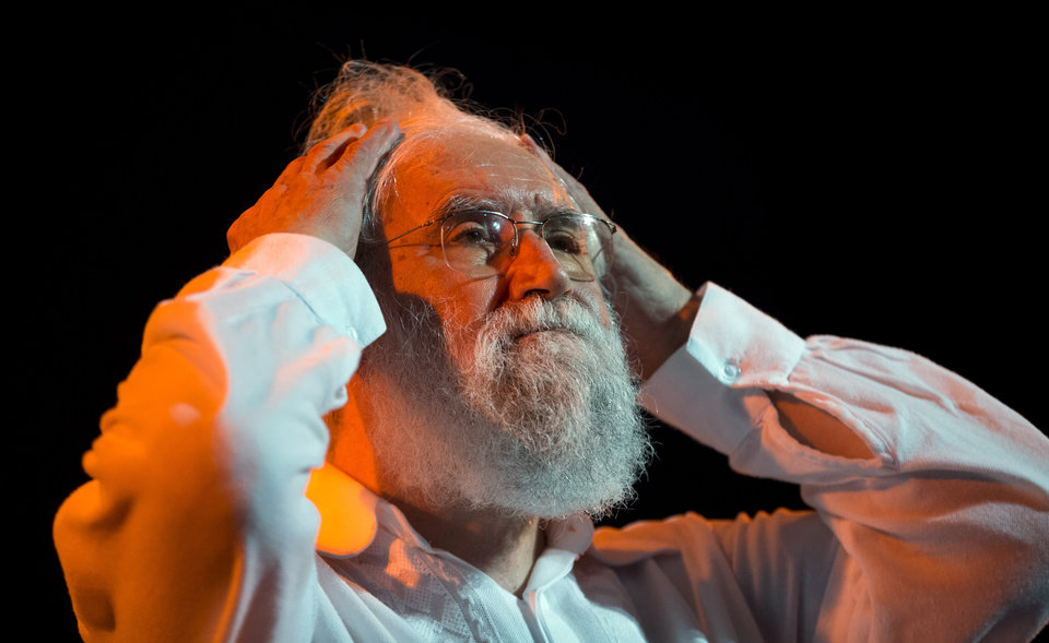 """Photo - Liberation Theologist Leonardo Boff, of Brazil, pauses as he attends the launching of a book by Clelia Luro, the wife of former bishop Jeronimo Podesta, in Buenos Aires, Argentina, Saturday, April 27, 2013. Boff says Pope Francis has what it takes to fix a church """"in ruins."""" Previous popes tried to silence the Brazilian leftist, but Boff says the former Argentine cardinal who became pope last month has both the vigor and tenderness to create a new spiritual world. (AP Photo/Victor R. Caivano)"""