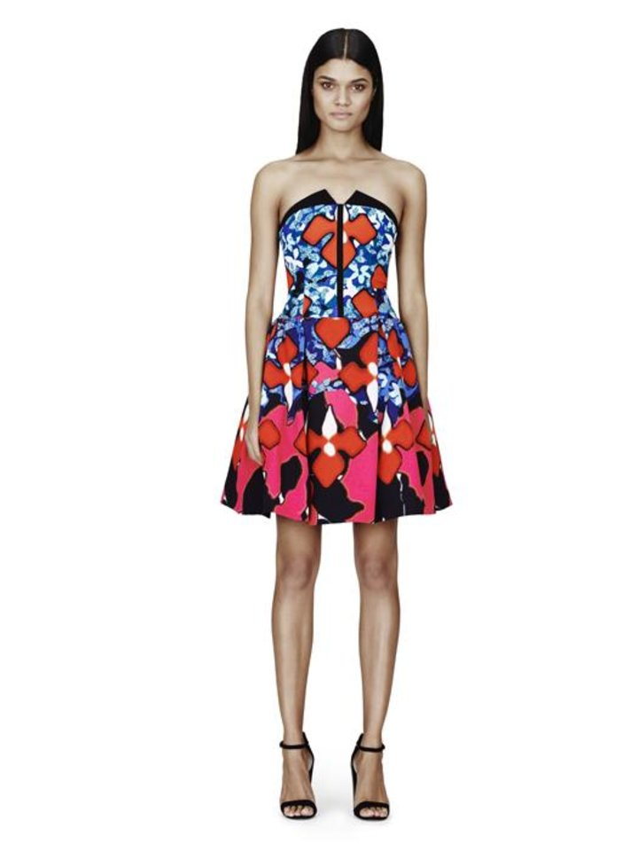 Jacquard iris print dress by Peter Pilotto for Target.