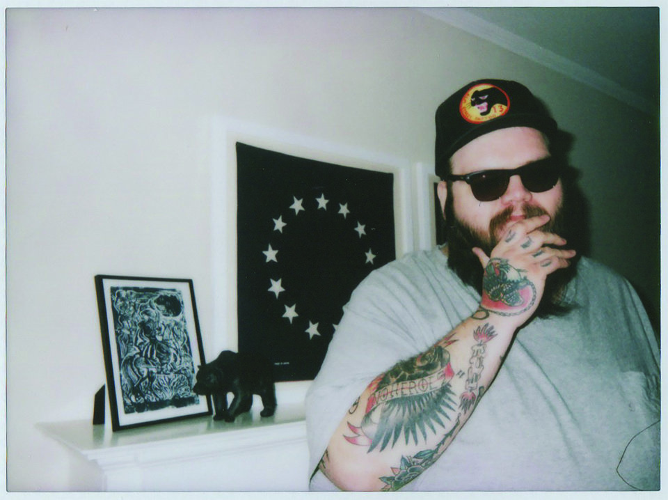 Photo -  John Moreland relocated from Kentucky to Tulsa when he was 10 years old. He fronted hardcore and punk bands throughout high school years before switching gears toward folk and country music. [Photo provided]