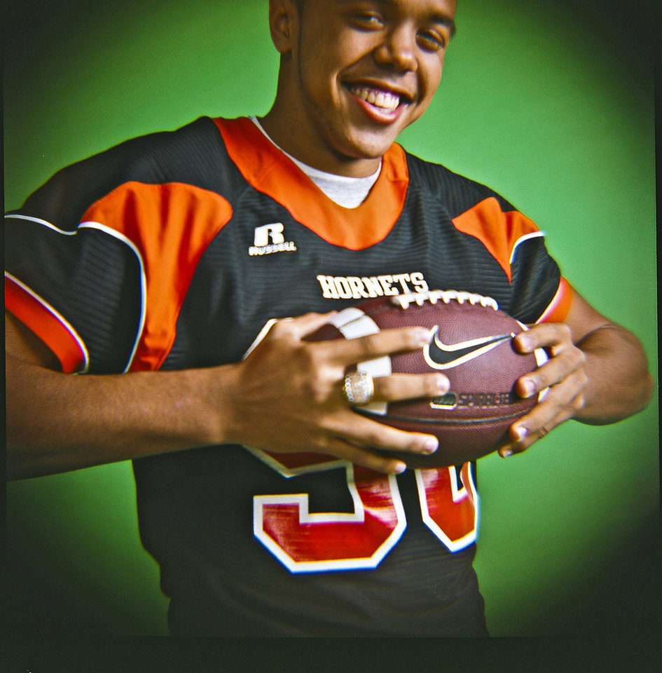 Ray Stovall of Booker T. Washington High School on Monday, Dec. 14, 2009, in Oklahoma City, Okla.   Photo by Chris Landsberger, The Oklahoman