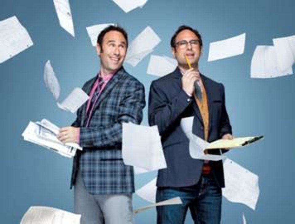"The Sklar Brothers host ""United Stats of America"" - History Photo"
