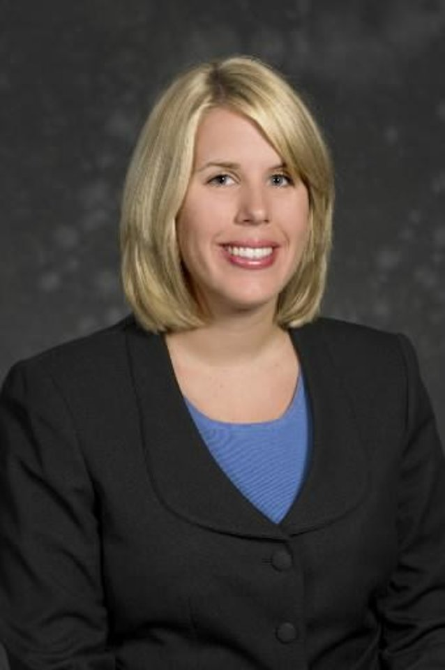 Kristin Simpsen A labor and employment attorney with McAfee & Taft - PHOTO PROVIDED