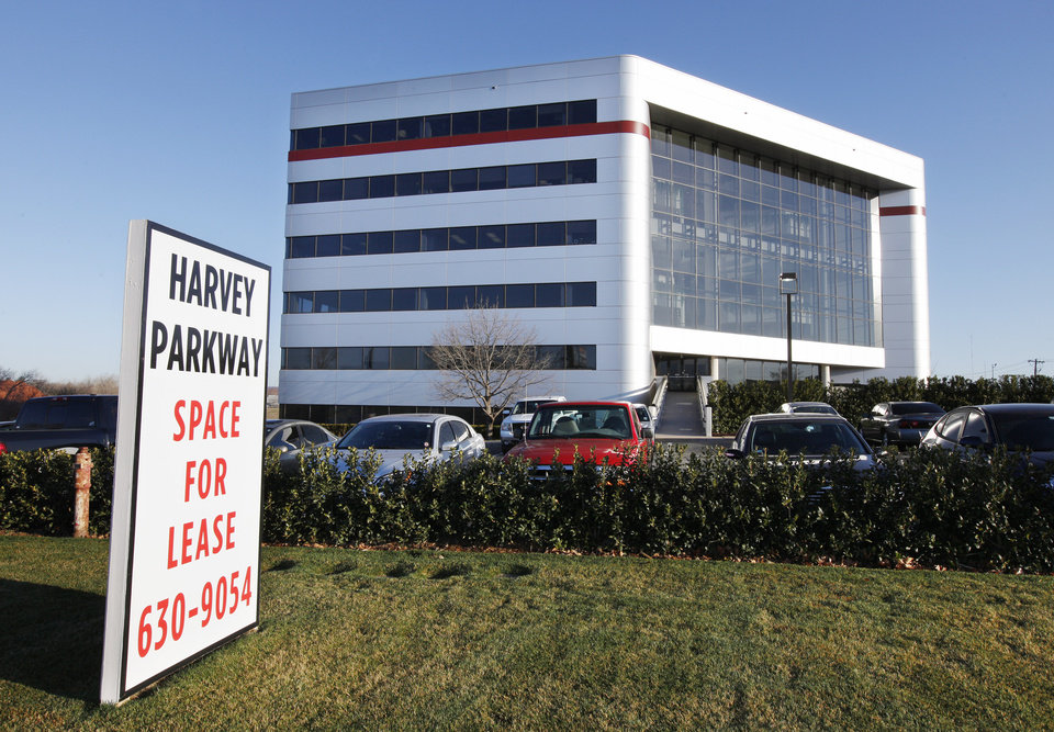 Harvey Parkway Building at NW 63 Street and Harvey Place in Oklahoma City.