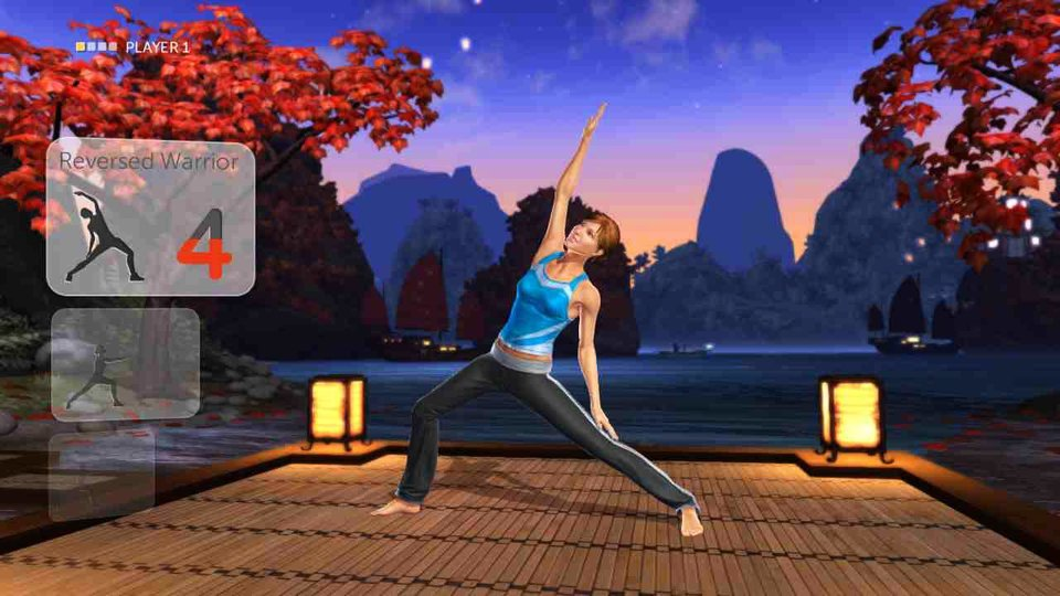 Photo - This undated publicity photo provided by Ubisoft Entertainment shows the fitness video game,