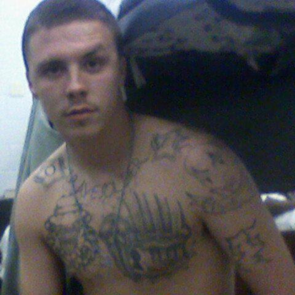 Child rapist Logan Lee, 22, was disciplined last year at the Jackie Brannon Correctional Center in McAlester for disruptive behavior after this photo was discovered on his Facebook page. Officials alleged the photo was taken with a cell phone inside prison.  <strong>Facebook - Facebook</strong>