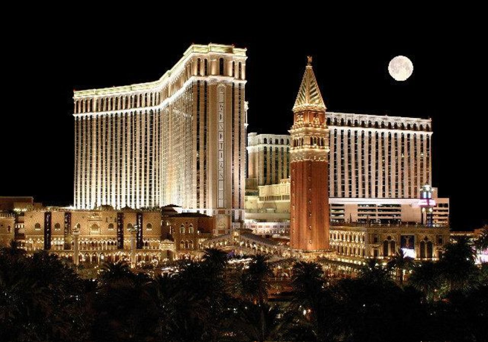Photo - The Venetian Hotel and Casino is shown. PHOTO PROVIDED