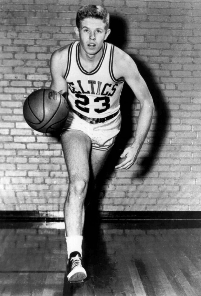 Photo - Frank Ramsey of the Boston Celtics basketball team in a 1960 file photo. (AP Photo)