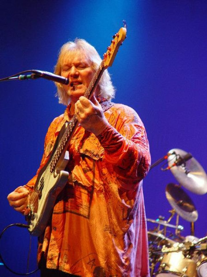 Photo - Yes bassist/vocalist Chris Squire. PHOTO PROVIDED  PROVIDED