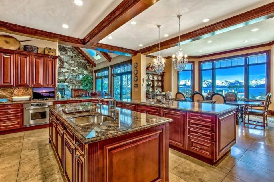 Photo -  Once listed for as much as $59 million, the Lake Tahoe estate that was used to film the intro for TV's
