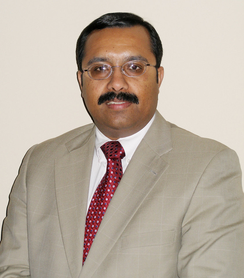 REJI VARGHESE: Reji T. Varghese, deputy director of the Oklahoma State Board of Medical Licensure & Supervision. ORG XMIT: KOD