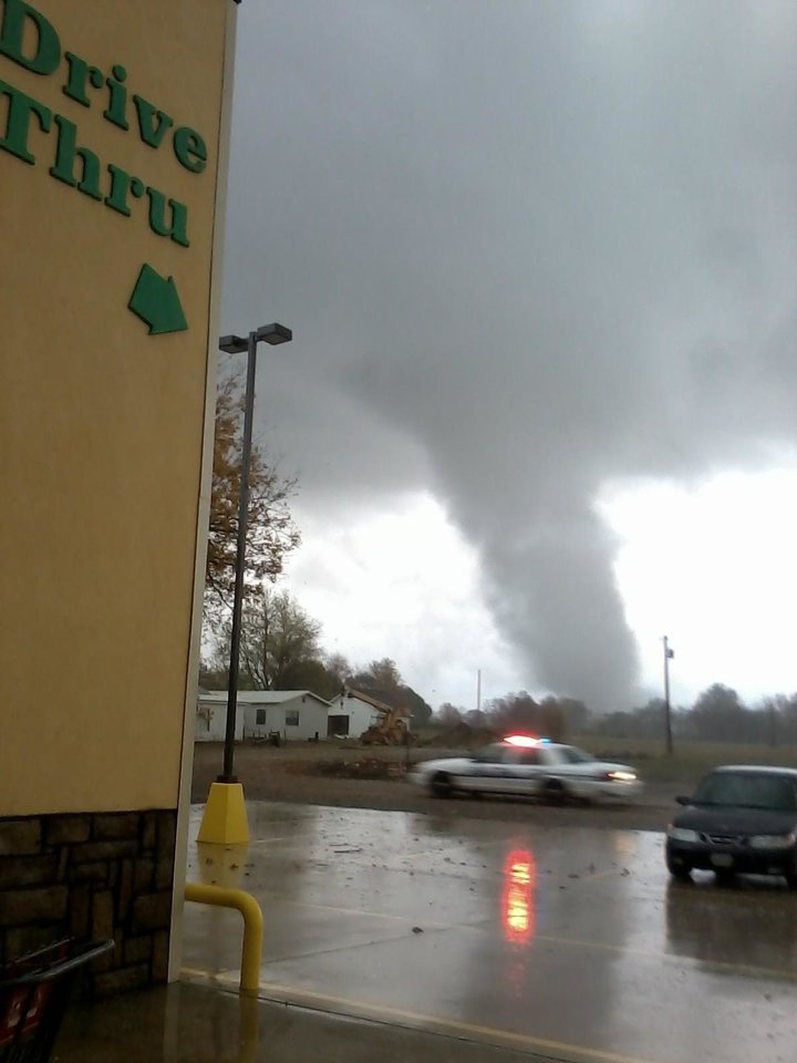 Tornado in valliant, ok