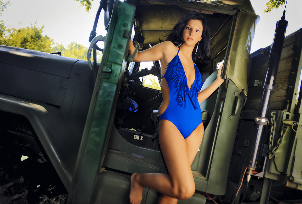 Photo - Rosebrook Vineyards, Oklahoma City Swimsuit from L.A. Sun & Sport   Vote for your favorite model now