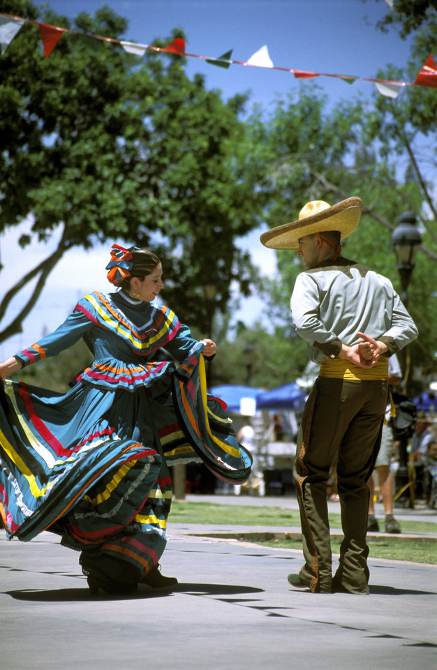 Above: A Cinco de Mayo celebration in Las Cruces, N.M. PHOTOS PROVIDED BY LAS CRUCES CONVENTION AND VISITOR BUREAU