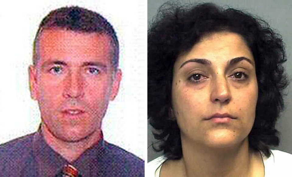 Photo - This is an undated handout photos issued by England's Hampshire Police on Monday Sept. 1, 2014,  of Brett King and Naghemeh King, the parents of Ashya King, who have legal proceedings against them continuing in Spain after they took the five-year-old brain cancer patient out of hospital without doctors' consent.  Critically-ill 5-year-old boy Ashya King driven to Spain by his parents is receiving medical treatment for a brain tumor in a Spanish hospital as his parents await extradition to Britain, police said Sunday Aug. 31 2014. Officers received a phone call late Saturday from a hotel east of Malaga advising that a vehicle fitting the description circulated by police was on its premises. Both parents were arrested and the boy, Ashya King, was taken to a hospital, a Spanish police spokesman said. (AP Photo/Hampshire Police)