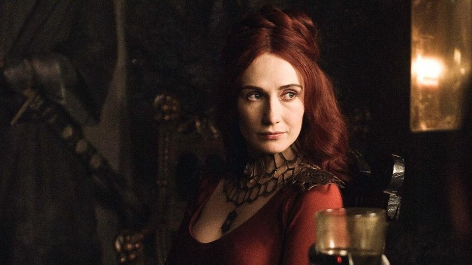 Photo -  The ever-mysterious Melisandre.