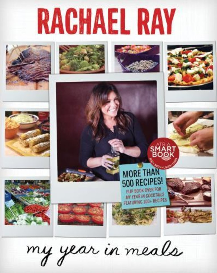 """Racheal Ray's My Year in Meals"" is a worthy holiday gift option. (Lexington Herald-Leader/MCT)"